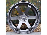 "18"" Bola B1 Gunmetal for VW Audi Seat Etc"