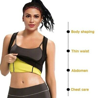 Best Neoprene Waist Trainer Corset Sweat Vest Weight Loss Body Shaper Workout (Best Waist Shaper Corset)