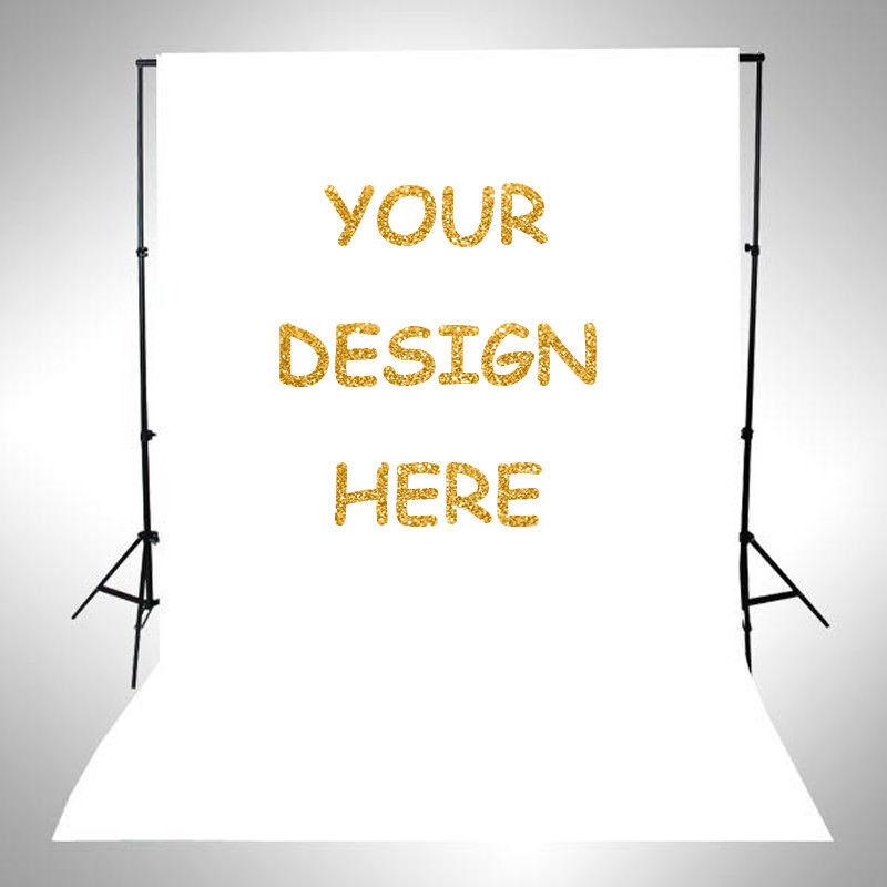 Design Customized Spotlignt Fabric Photography Backdrop Studio Background Photo