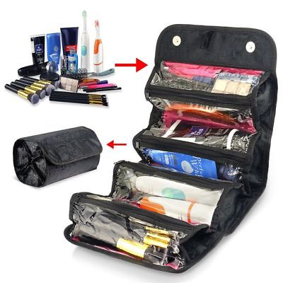 Travel Cosmetic Makeup Bag Toiletry Hanging Zip Organizer Storage Case Pouch New