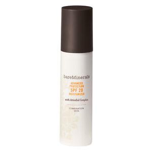 Bare Minerals Advanced Protection SPF 20 Moisturizer Combination Skin 1.7 oz