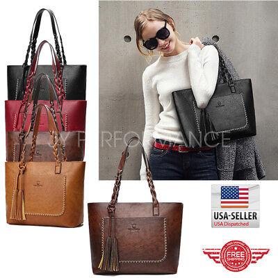 Women Tote Bag for Women Leather Bags Handbag Shoulder Hobo Purse Messenger 87 (Faux Leather Tote)