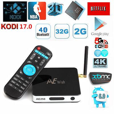 Anewish 2G 32G AE256 Android 6.0 TV Box Amlogic S912 Octa Core 1000M LAN 4K KD