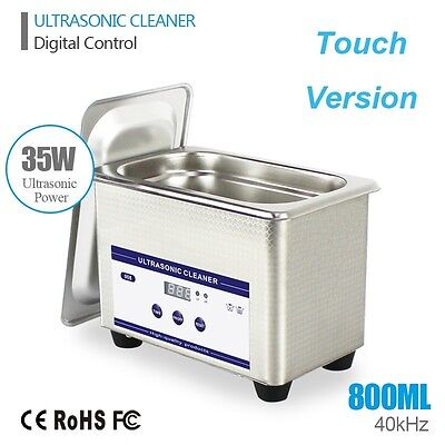 Stainless Steel Digital Ultrasonic Cleaner Sonic Timer Cleaning Equipment