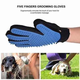 pet products dog or cat hair brush pet grooming glove brush