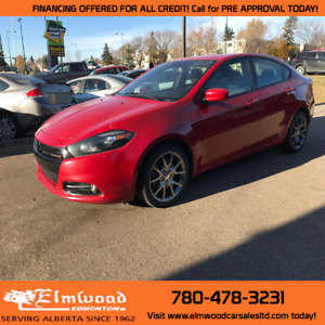 2014 Dodge Dart SXT! LOW KM!! CALL TODAY FOR PRE APPROVAL!