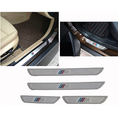 Fit ///M BMW X1 X3 X5 X6 E70 E83 E84 2009 2017 Door sill scuff plate Guard Sills