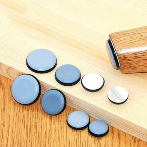 Color: Black 40Pcs Self-Adhesive Insulation Rubber Bumper Stop Non-Slip Feet Door Cabinet Drawers Buffer Pads for Home Funiture