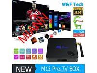 M12 PRO Octa Core Android 6.0 Amlogic S912 TV BOX 2G 16G WiFi Bluetooth