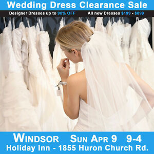 Wedding Dress Clearance Sale Bridal Show   $199-$899 Sizes 2-28