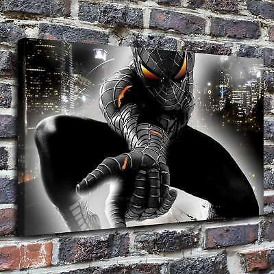 Imgur Spider Man Paintings Hd Canvas Print 16 X26   Home Decor Wall Art Pictures