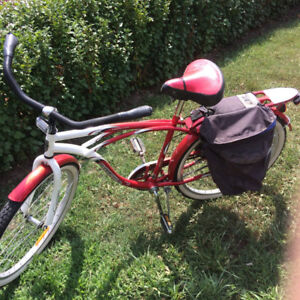 Mens Supercycle red and white 70th Anniversary  sturdy bike