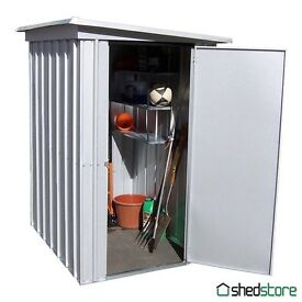 5' x 4' Yardmaster Pent Metal Shed 54PEZ (1.58x1.20m) now only £65!