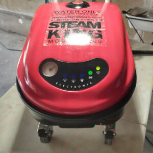 Steam king 1500 industrial steam cleaner