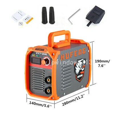 10-200a Igbt Dc Inverter Welding Machine Arc Mma Electric Welder 220v Portable