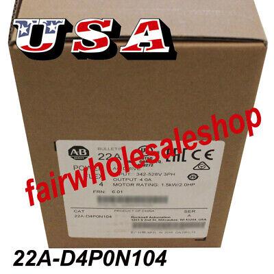Quality Allen-bradley 22a-d4p0n104 Powerflex 4 480v Ac Drive 1.5 Kw 2 Hp 3ph