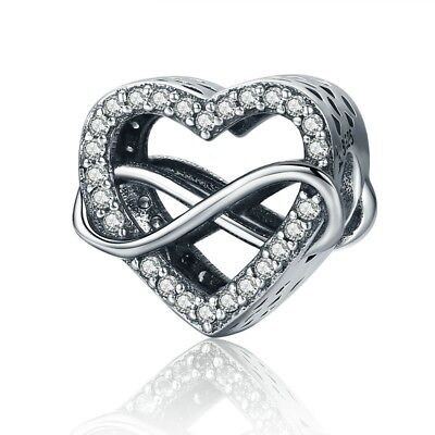 (Endless Love Infinity Love Charms 100% 925 Sterling Silver Pandora)
