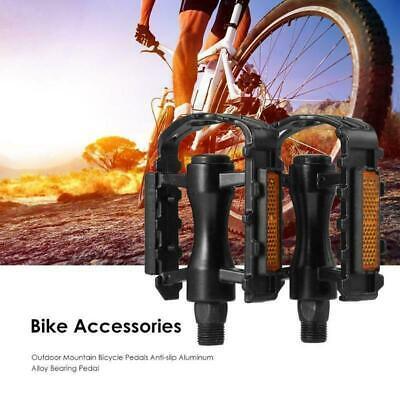 2x MTB BMX Aluminum Fahrradpedale Plattformpedal Trekking Pedale Mountainbike DE