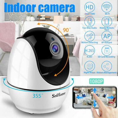 Wireless Security IP Camera System Indoor Wifi 1080P Smart Home CCTV Video