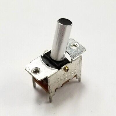 Alco Cst-022 Dpdt On-on P.c. Mount Baton Toggle Switch 0.3a 125v Ac Cst022