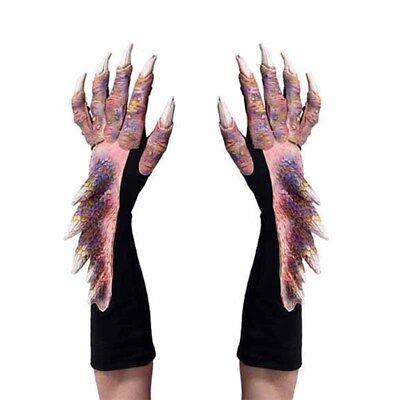 Alien Hands Costume (Pretty Dragon Alien Reptile Claws Hands Cosplay Adult Halloween Costume)