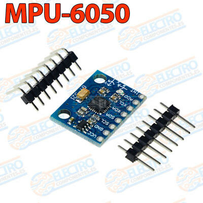 MPU 6050 GY-521 Acelerometro + Giroscopio de 3 ejes cada uno Arduino MPU6050 segunda mano  Embacar hacia Argentina