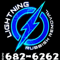 Lightning Rubbish Removal & Bin Rentals - Kamloops Junk Removal