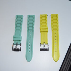 FOSSIL 18mm watch straps (2 in total)