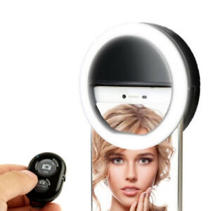 KobraTech  Selfie Light with Remote - LED Selfie Ring Light for
