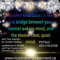Guided Meditations with Tina Jackson of Mystical Empowerment