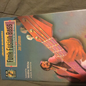 Like new-never used-How to play Funk fusion bass-includes cd$10
