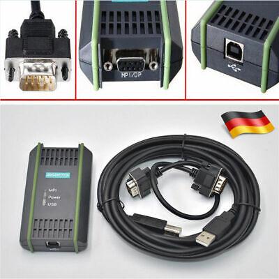 Usb-kabel Kit (USB MPI Programmierkabel Kabel für Siemens S7-200/300/400 PLC Adapter Kit Gift A)