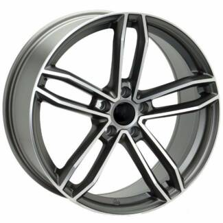 Audi  mercedes oem r spec wheels new with tyres