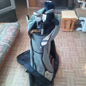 Batton de Golf avec sac - Gaucher