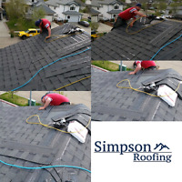Simpson Roofing! Where Quality Meets Affordability!