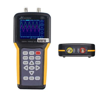 Handheld Oscilloscope 2 Channels 20mhz 200mss 2000ma Li-battery 3.2 Tftlcd