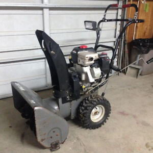 Sears Craftsman snowblower with electric start
