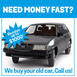 We buy your old car CASH!