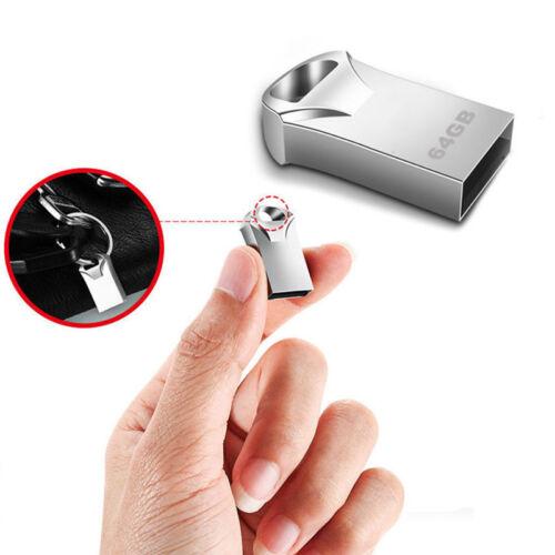 8/16/32/64GB Mini USB Flash Drive USB Memory Stick Pen Drive Store Data Metal