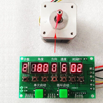 Stepping Motor Driver Controller Angledirectionspeedtime Programmable Module