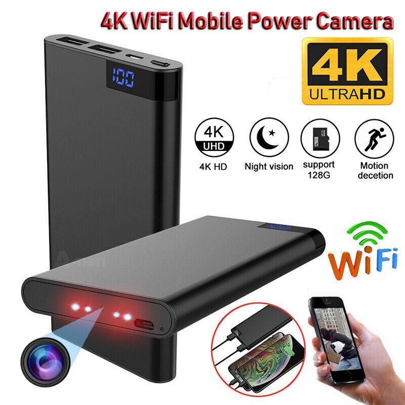 HD 720P IR Night vision Book Hidden spy Camera w//000MAH Battery 30h recording