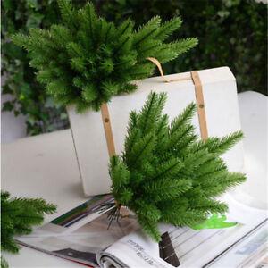 10 Pcs Artificial Flower False Plants Pine Branches Christmas Party Decorations