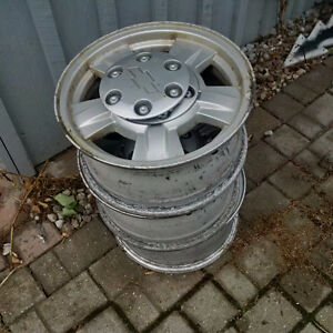 Chevy Colorado aluminum rims - 3