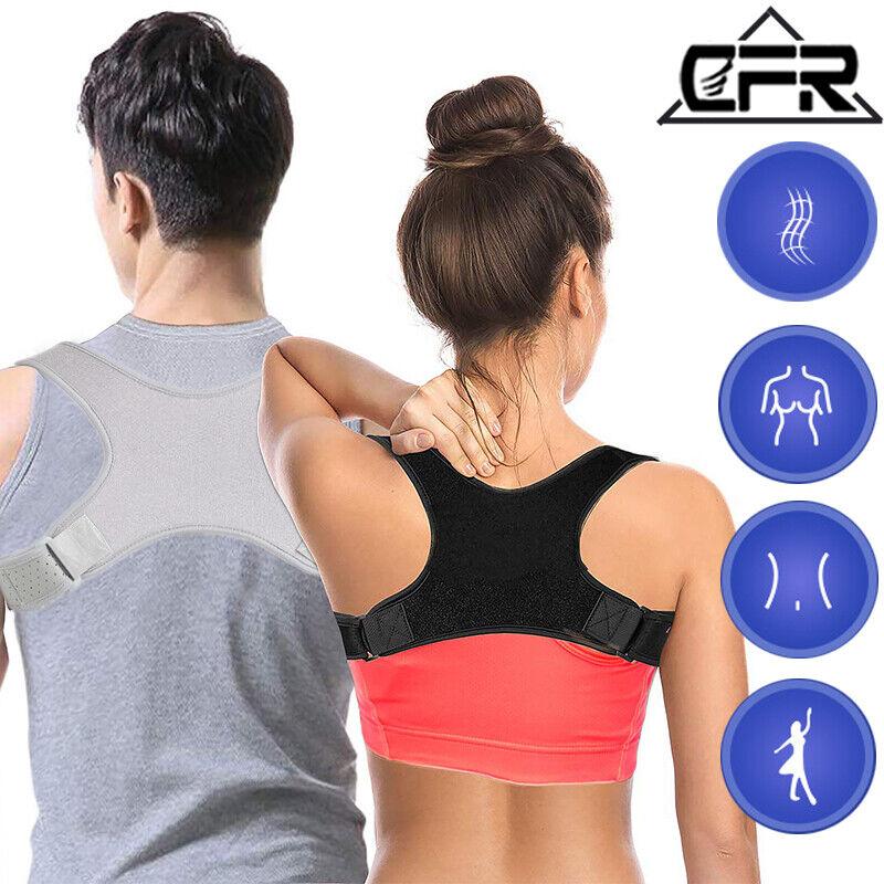 Adjustable Back Support Compression Posture Corrector Should