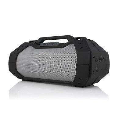 Braven BRV-XXL Large Portable Waterproof Bluetooth Speaker Black Titanium