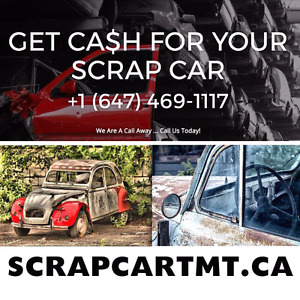 Get cash for your scrap car