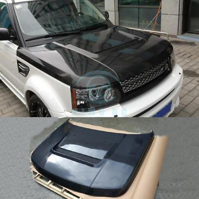 Carbon Fiber Car Front Hood Engine Covers For Land Rover Range Rover 2012-2015