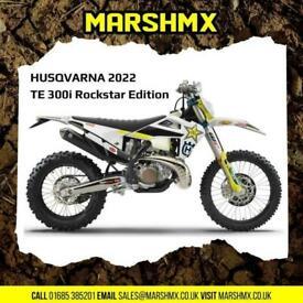 Husqvarna TE300i Rockstar Ed 2022 Model- Nil Deposit Finance Available