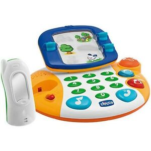Chicco Bilingual Talking Video Phone Baby Toy Toddler 18m+ Interactive New