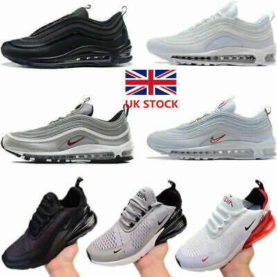 Mens Air Max-97 / 270 Running Shoes Light Sports Trainer Sneakers Size 6-10 UK